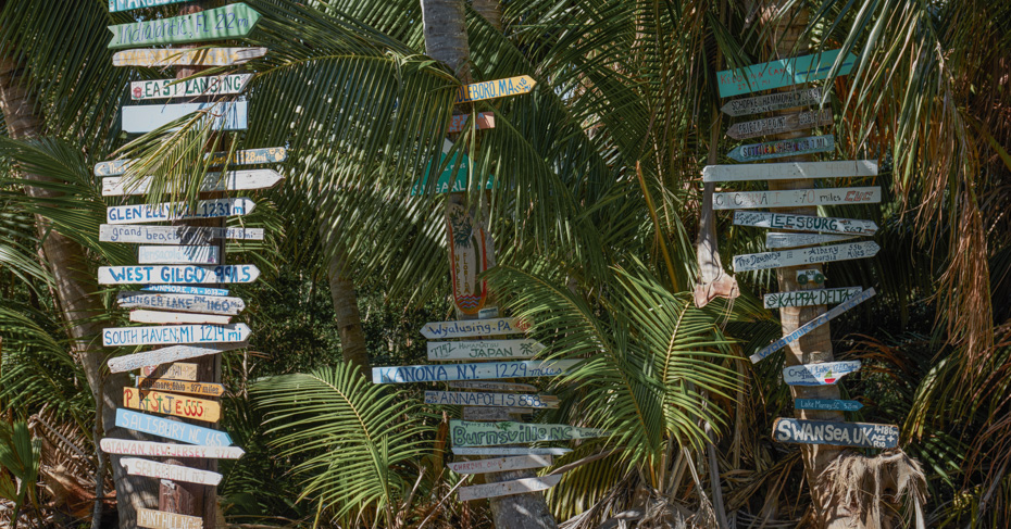 One day trip to Bahamas from Miami to visit the Abacos Islands and elbow Cay Bahamas and the quaint Hope Town Bahamas.