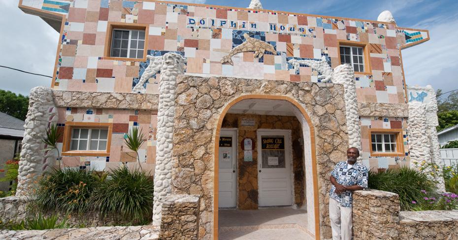 Visit Dolphin house on a one day cruise to Bimini bahamas. Take a bahamas charter flights and island hop bahamas with Bahamas Air Tours