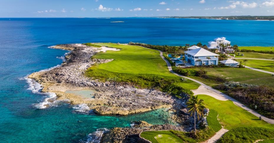 Bahamas Golfing Emerald Bay golf course on Great Exuma in the Bahamas Islands. Discover the best Golf in Bahamas on Exuma, Abaco, Nassau and Freeport.