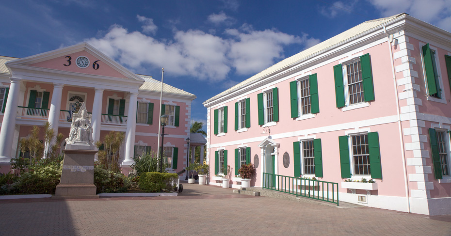 Bahamas Landmarks Nassau, Take a Self guided walking tour of Nassau Old Town in the Bahamas. Take a Bahamas Island Hopping tour with Bahamas Air Tours.