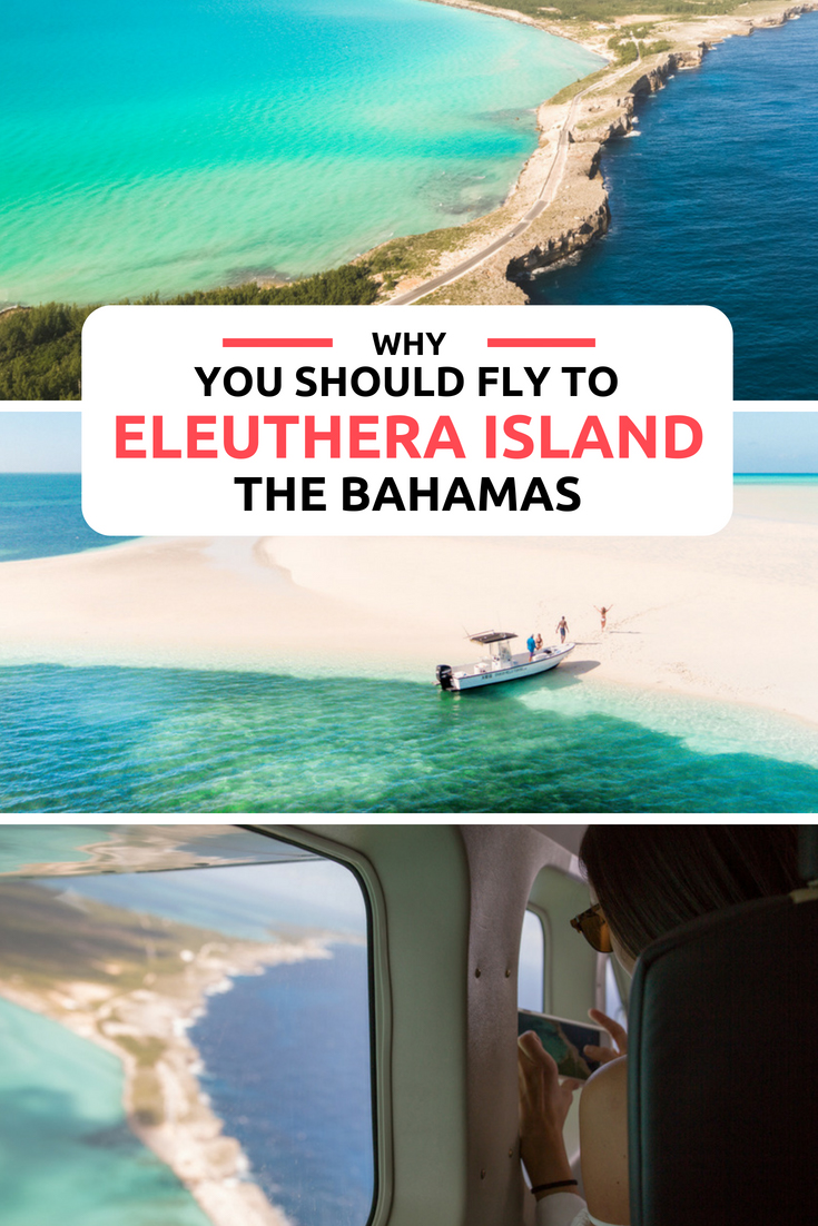 Why you should visit Eleuthera Island by take flights to North Eleuthera and seeing the stunning Glass Window Bridge – the divide between the Atlantic Ocean and the Bahamas Sea. When visiting Eleuthera Island Bahamas you must visit Spanish Wells and Harbour Island. One of the top things to do in Bahamas is the Pink Sands Beach, one of the top beaches in the World. Flights to Bahamas available with Bahamas Air Tours. #Bahamas