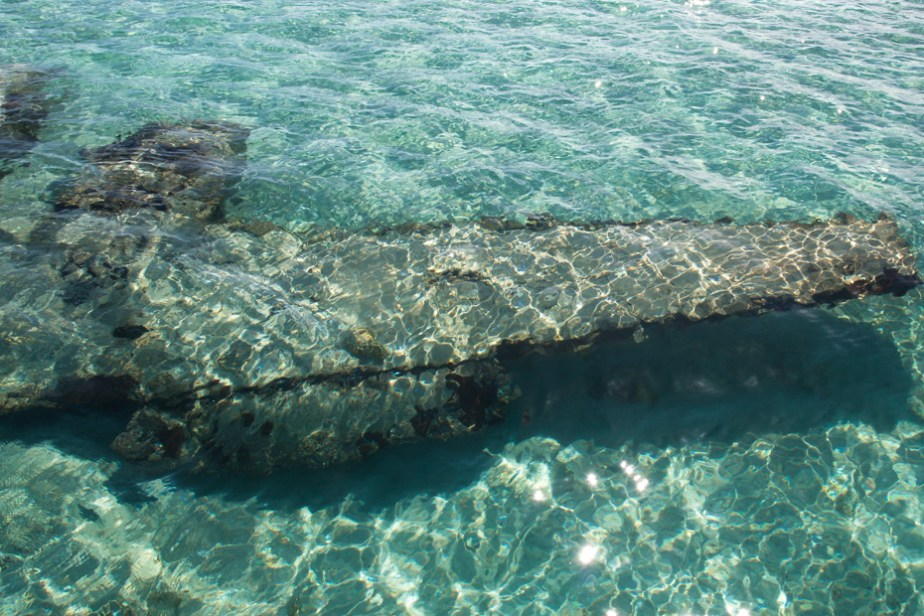 The Underwater Staniel Cay Plane Wreck in the Exumas Bahamas