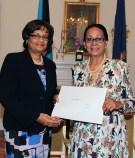Madame Stella Maureen Crane- Scott was sworn in as Justice of the ...