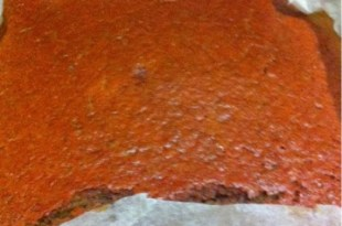 Kırmızı pancarlı kek