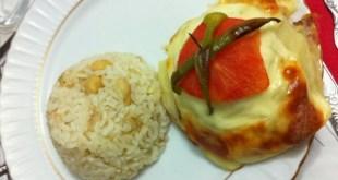 kaşar peynirli fırın köfte