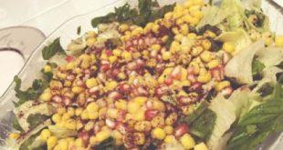 Ispanaklı Narlı Salata
