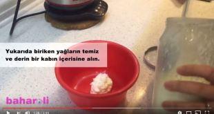 Evde Keçi Tereyağı Yapımı (Videolu)