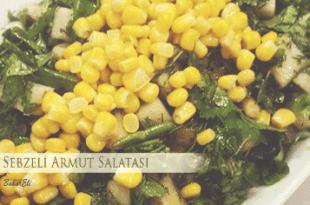 Sebzeli Armut Salatası