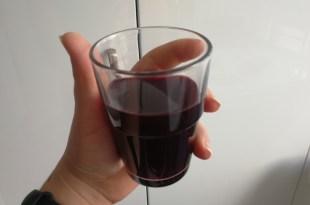 Kansızlık için siyah üzüm şerbeti