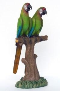 İkili Papağan Maketi