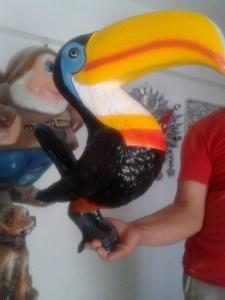 Taucan Papağan Maketi