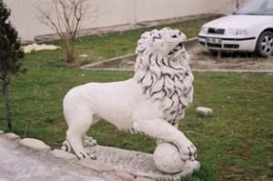 Galatasaray Aslan Heykeli