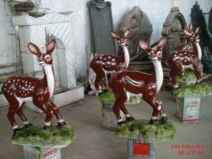 Gazelle Statues
