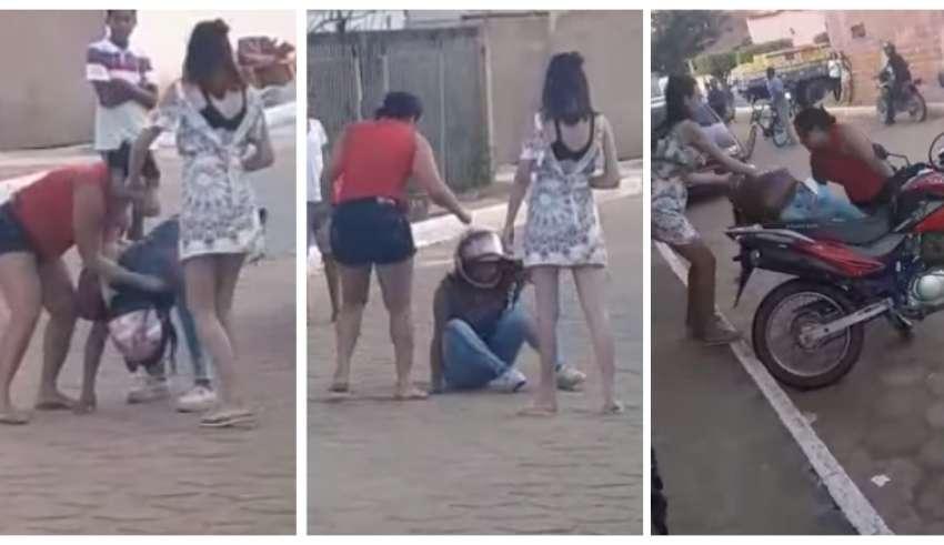 Resultado de imagem para Professora é agredida por mãe de aluna na porta da escola no interior de Minas