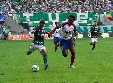 Bahia arranca empate com o Palmeiras no Allianz Parque pelo Brasileirão