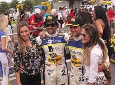 Ex- BBB's tietam piloto da Stock Car em Salvador