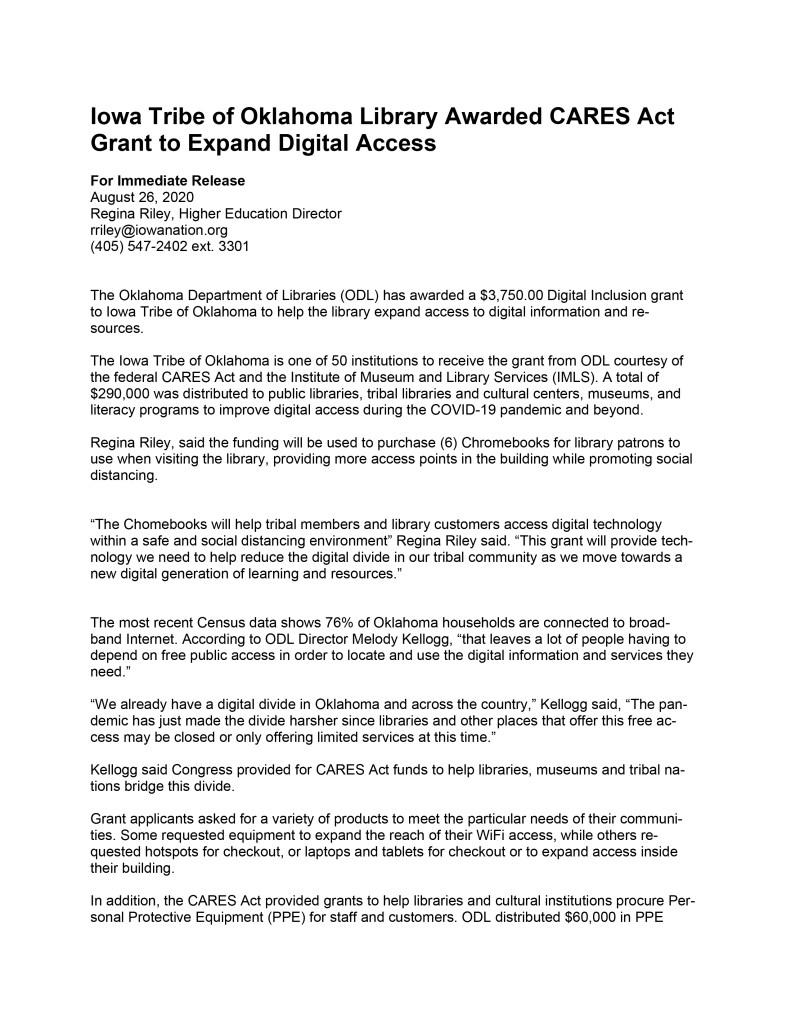 Digital-Inclusion-Grant-Press-Release page1
