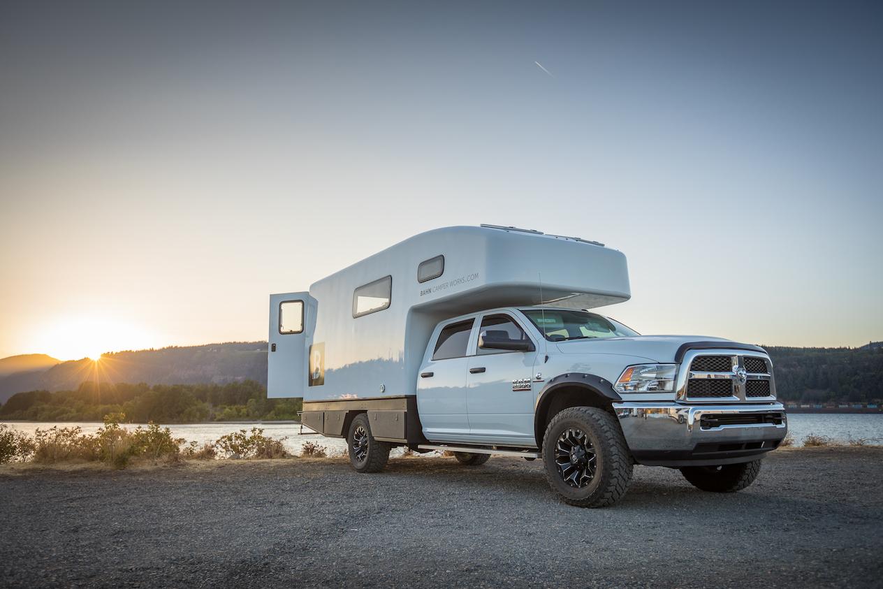 Diy Truck Camper In Captivating Custom Truck Campers Truck