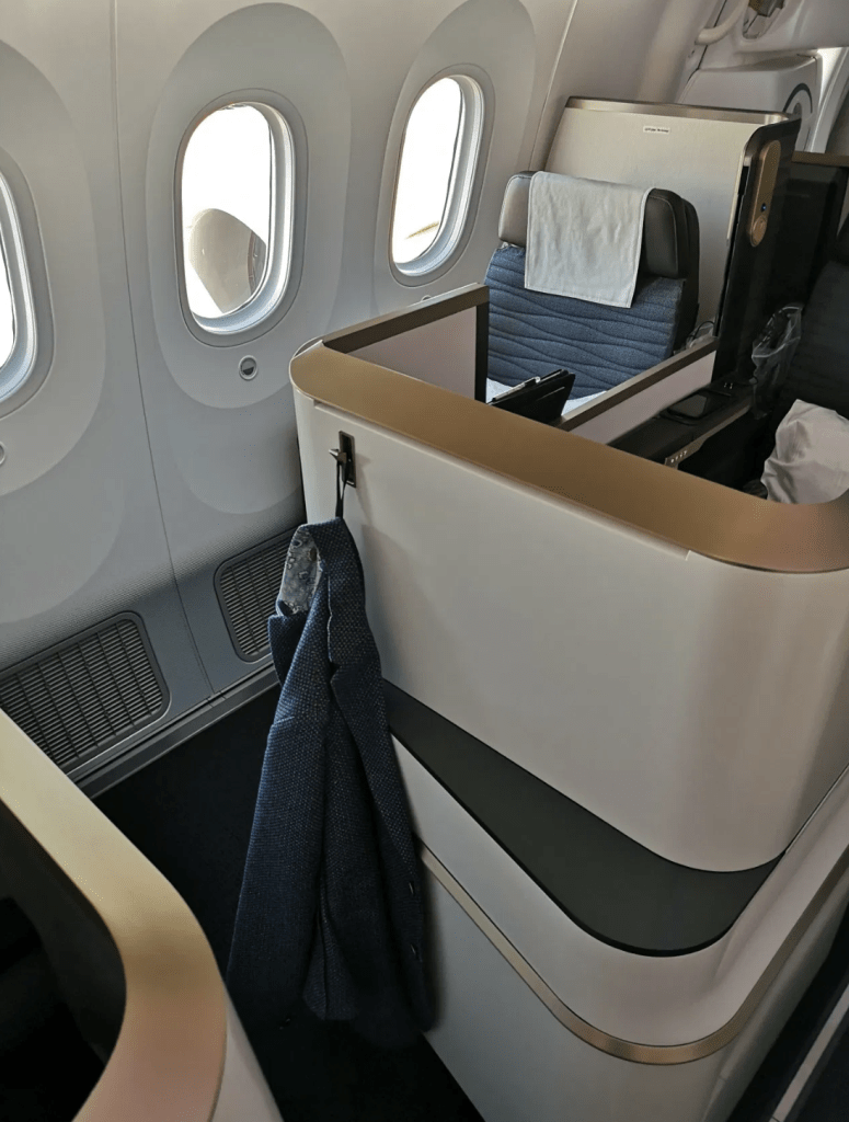 Business Class im Dreamliner