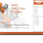 Bahricanli.com.tr tasarımı yenilendi