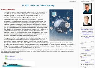 Effective Online Teaching screenshot