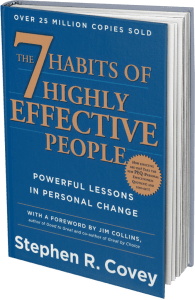 Book: 'The 7 Habits of Highly Effective People' by Stephen R. Covey