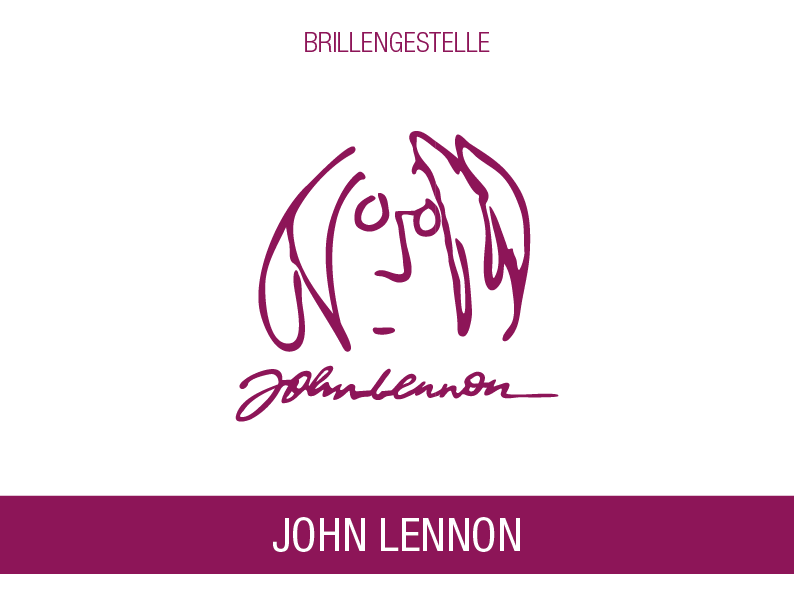 JOHN LENNON SIGNATURE GLASSES
