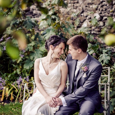 English garden wedding yorkshire photographer
