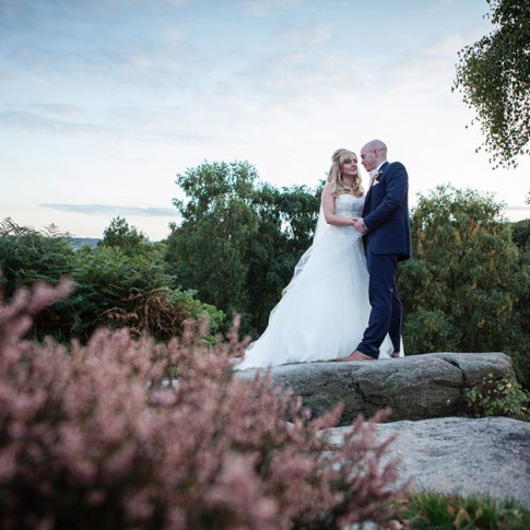 Yorkshire wedding photographers near Leeds