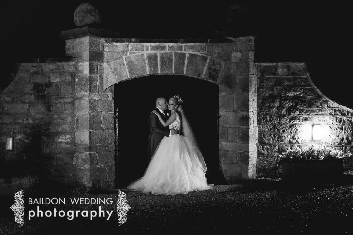 Night shot at Wood Hall weddings Linton near Harewood House