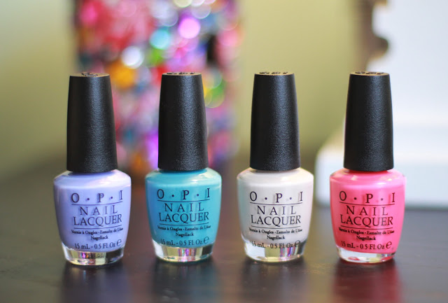 OPI EURO CENTRALE COLLECTION + SWATCHES