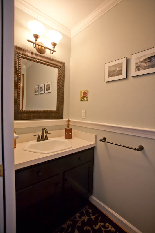 bathroom remodel with crown molding | coventry, ct