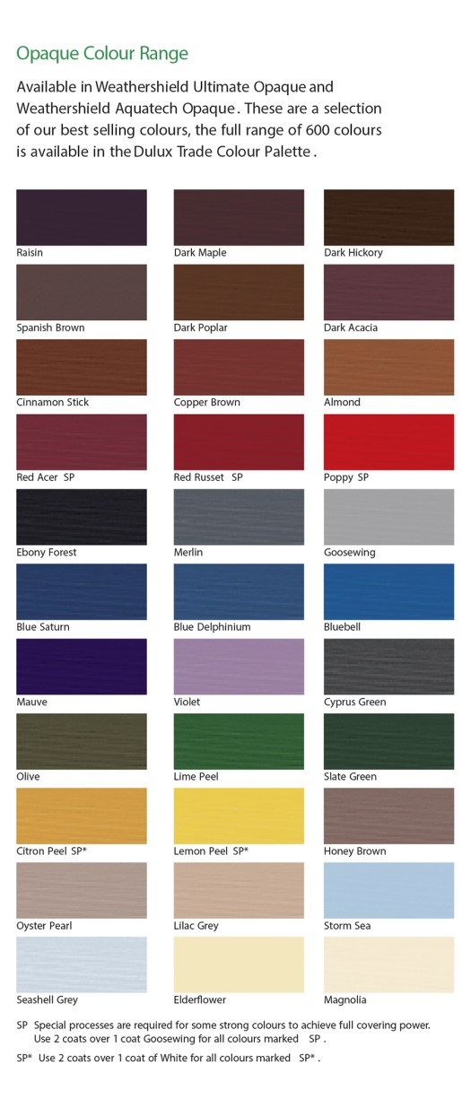 Interior Wood Paint Colour Chart Home Painting