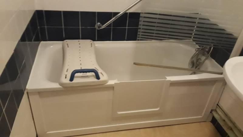 prix d une baignoire avec ouverture