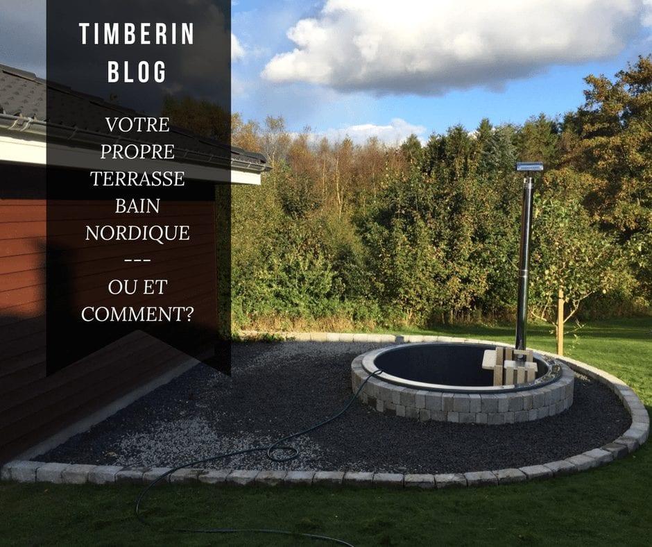 Exemples D'installation De Hot Tub Modèle De Terrasse