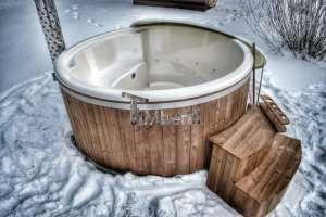 bains scandinaves en hiver