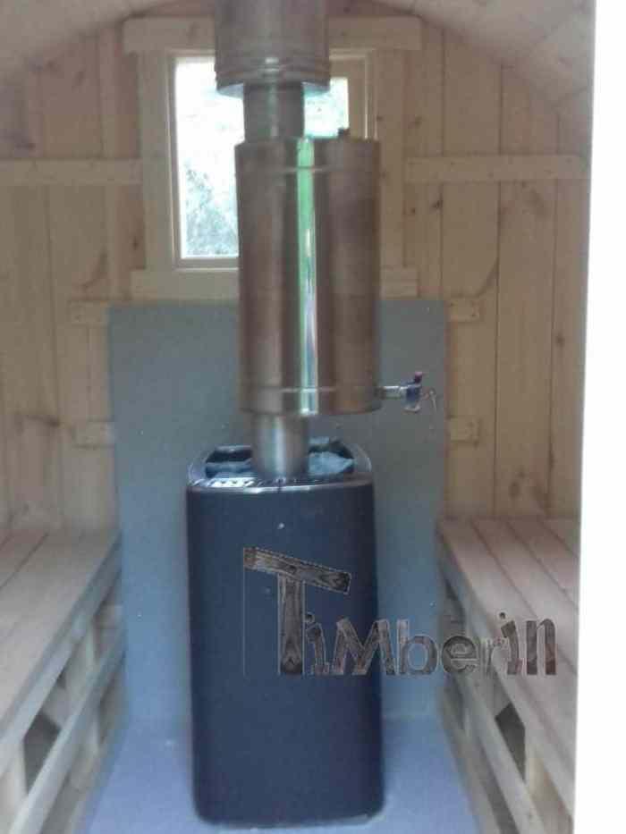 Sauna tonneau 2m, Margit, Pont-Trambouze, France