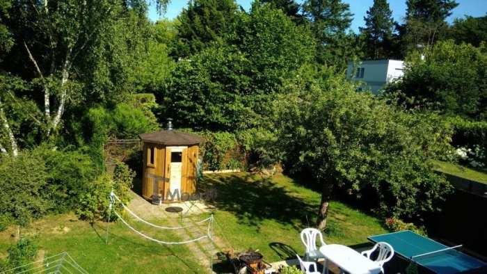 Sauna Extérieur Pour Les Petits Jardins, Jean Louis, Gif Sur Yvette, France