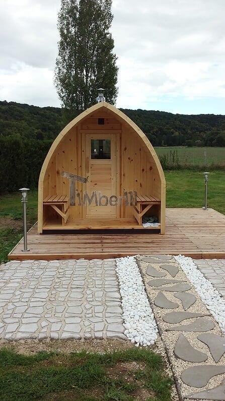Saunas Extérieur Igloo, Alain, TOURNEVILLE, France (2)