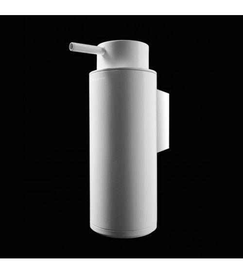 Porte Savon Liquide Mural Chrome Blanc Black White Cosmic