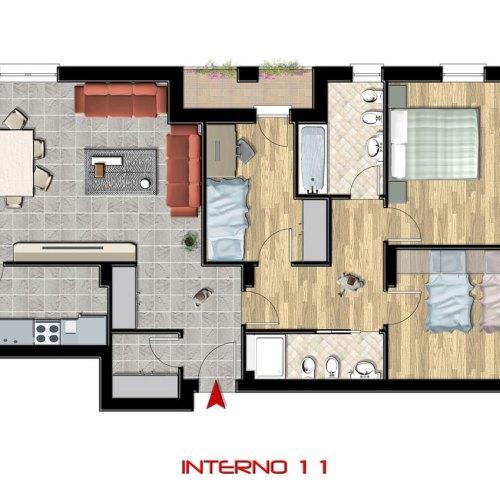 Interno 11, 2° piano