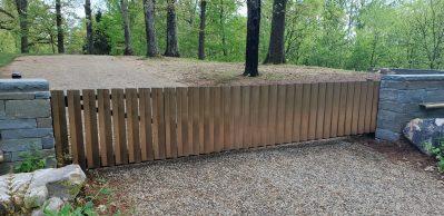 Loghaven Artist Residency gate image