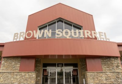 Brown Squirrel Furniture letters image