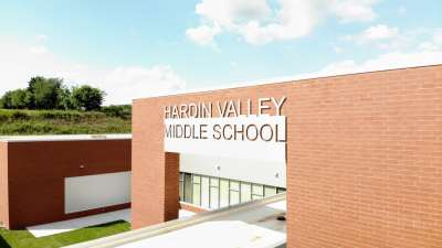 Hardin Valley Middle School sign