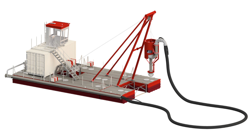 Royal IHC unveils new series of compact dredger