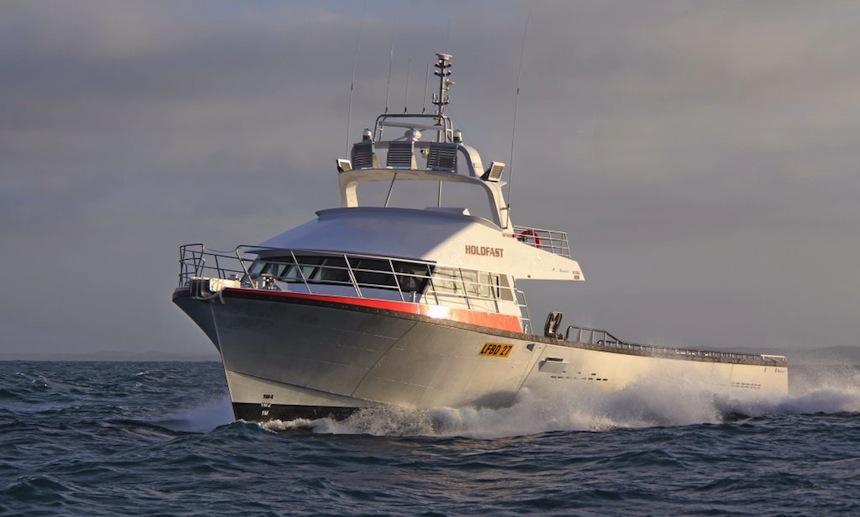 GEAR | Holdfast demonstrates big boat benefits