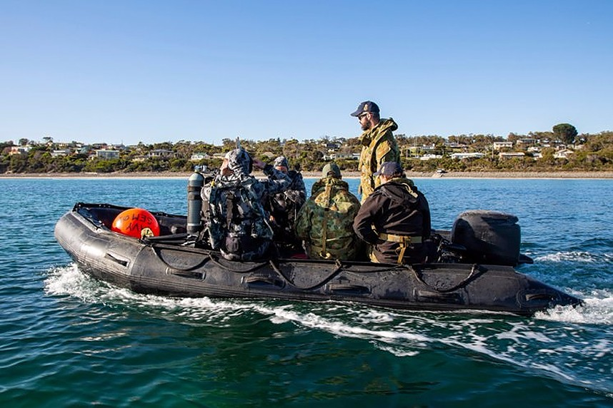 RAN performs successful mine clearance test during Fleet Certification Period 2020