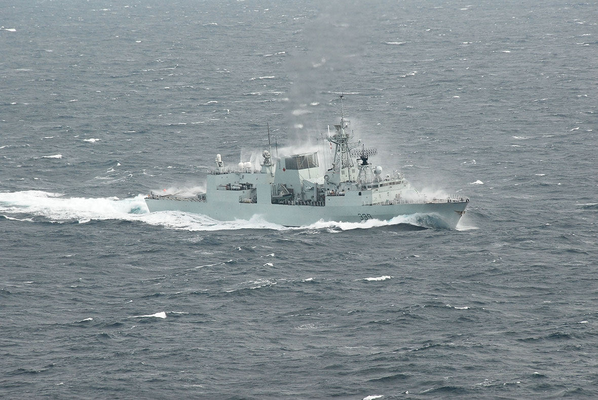 Photo: Royal Canadian Navy