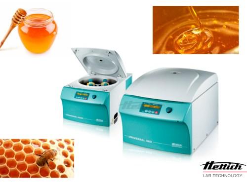 Tratamiento de muestras de miel para el análisis de productos alimenticios