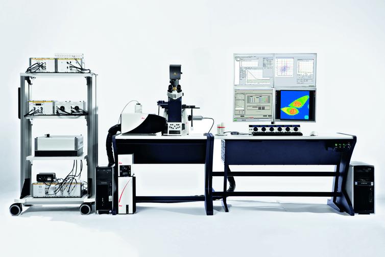 FCS - Espectroscopia de correlación de fluorescencia